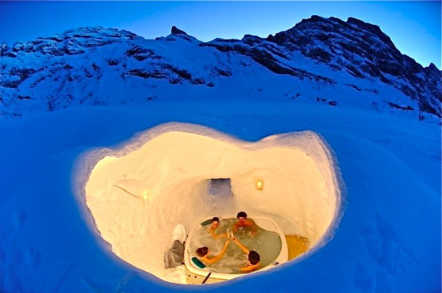 Week End Insolite Romantique Et Inuit Au Village D Igloo Koming Up