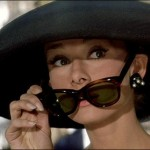 Audrey Hepburn Wayfarer Ray-Ban 75 ans by Koming up
