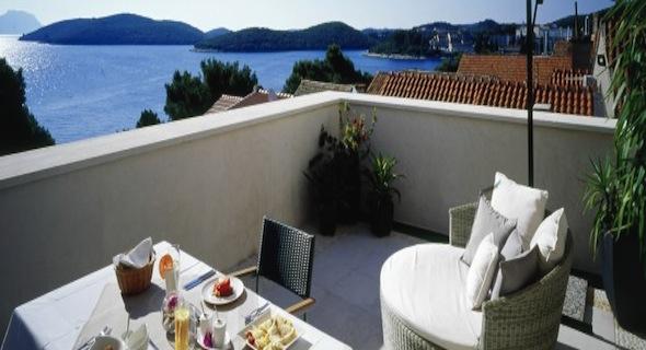 H tel lesic dimitri palace un boutique h tel de luxe au for Boutique hotel korcula