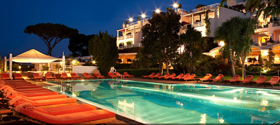 H tel capri palace capri italie koming up for Piscine cmg italie