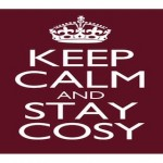 KEEP CALM AND STAY COSY BY KOMING UP