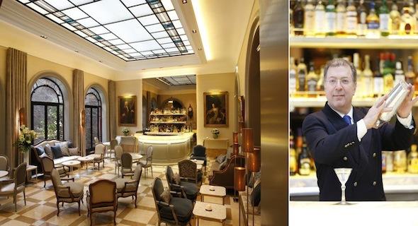 Nouveau look pour le bar et le restaurant toil de l h tel lancaster paris koming up - La table du lancaster paris ...