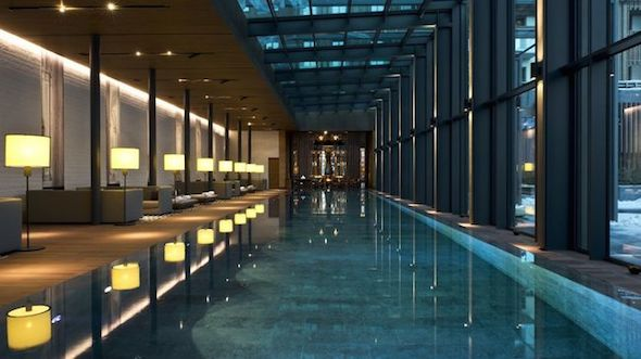 Le chedi andermatt residences un nouvel h tel d London hotels with swimming pool and gym