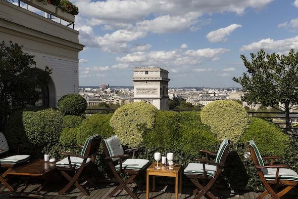 Meilleur Restaurant Toit Terrasse Paris