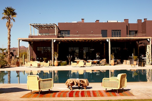 Fellah hotel marrakech maroc main pool bar restaurant by komingup