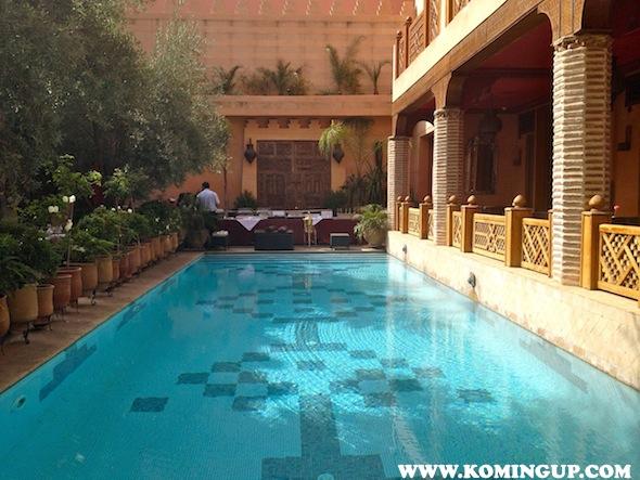 La Maison Arabe, un riad de légende au coeur de Marrakech !