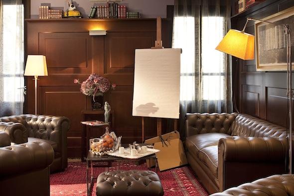 Les peiades un h tel cinq toiles au coeur de barbizon for Boutique hotel fontainebleau