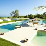 Hotel Sant Pere del Bosc Lloret de Mar espagne outdoor by suite privee poolby komingup