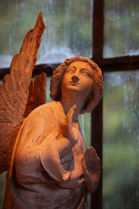 abbaye des vaux de cernay rambouillet statue lobby by komingup