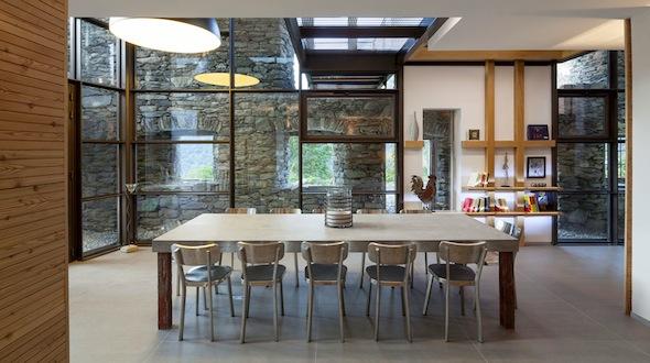 Chalet Mineral Lodge Villaroger paradiski sainte-foy-tarentaise-mineral-lodge-salon salle à manger 2 by komingup