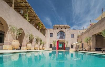 Hotel Caravan Serai Palmeraie de Marrakech Piscine by komingup