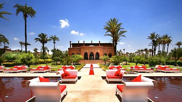 Murano Hotel Marrakech main pool by koming up