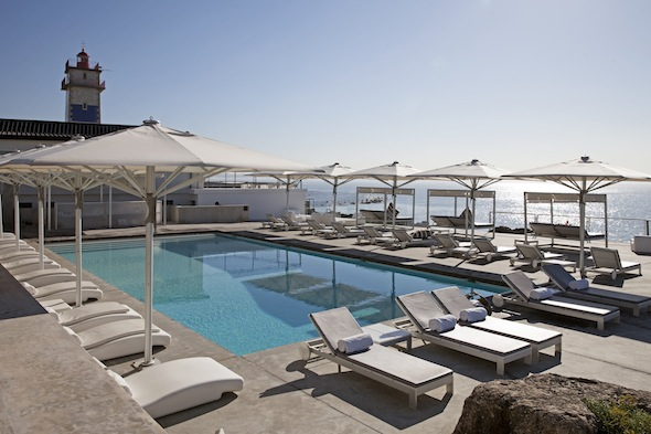 Week end chic cascais dans les hamptons portugais for Hotel design piscine lisbonne