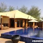 Banyan Tree Ras Al Khaimah camp de tentes de luxe desert dubai piscine privee
