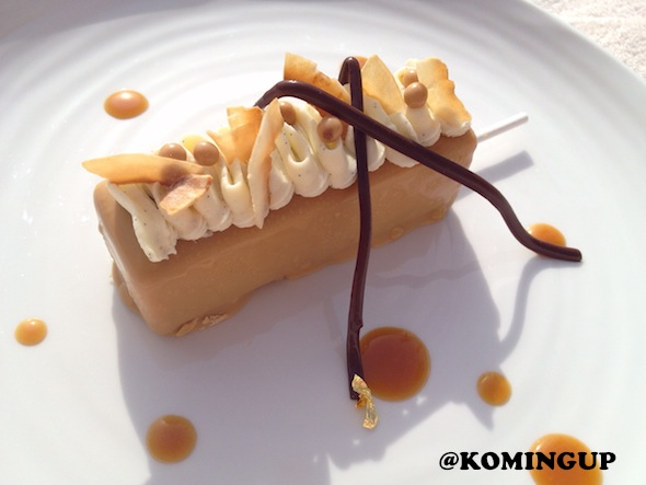 Four Seasons Resort Dubai Jumeirah Beach dessert caramelise Four Seasons Ice Cream Bar