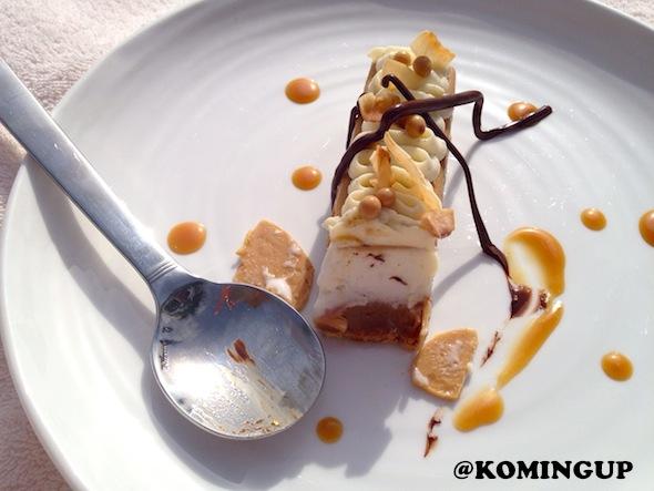 Four Seasons Resort Dubai Jumeirah Beach dessert caramelise Four Seasons Ice cream Bar 2