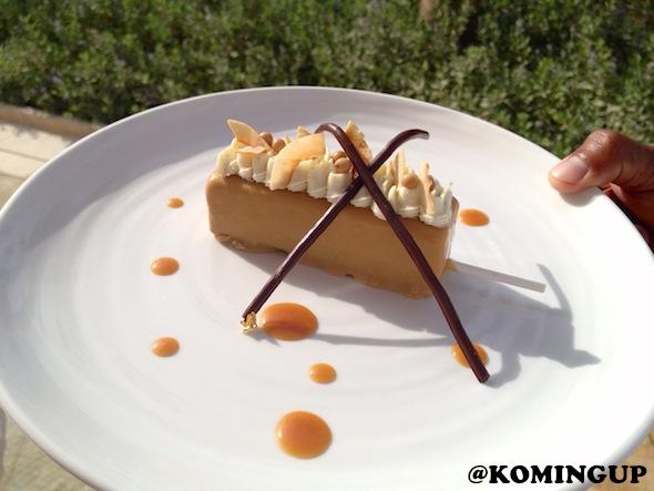 Four Seasons Resort Dubai Jumeirah Beach dessert caramelise