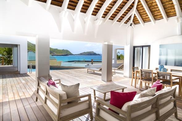 Hotel Taïwana Saint Barthélémy Caraïbes Penthouse vue d'ensemble by KomingUP blog dernieres tendances du voyage
