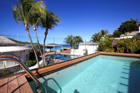 Hotel Taïwana Saint Barthélémy Caraïbes Suite avec piscine by KomingUP blog dernieres tendances du voyage