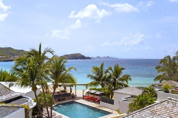 Hotel Taïwana Saint Barthélémy Caraïbes Vue d'ensemble by KomingUP blog dernieres tendances du voyage