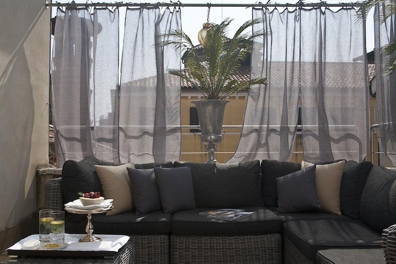 Ca Maria Adele Venise Boutique Hotel de Luxe terrasse sur le toit aperitif by komingup