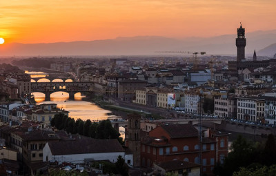 Florence-Italie-coucher-de-soleil-by-komingup