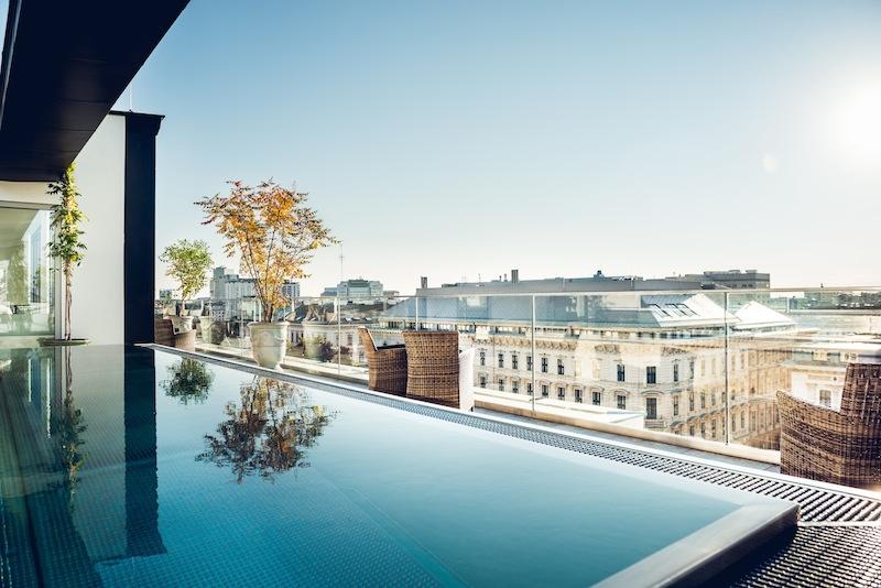 Hotel Grand Ferdinand Vienne boulevard Ringstraße-Grand Ferdinand Rooftop Pool by komingup