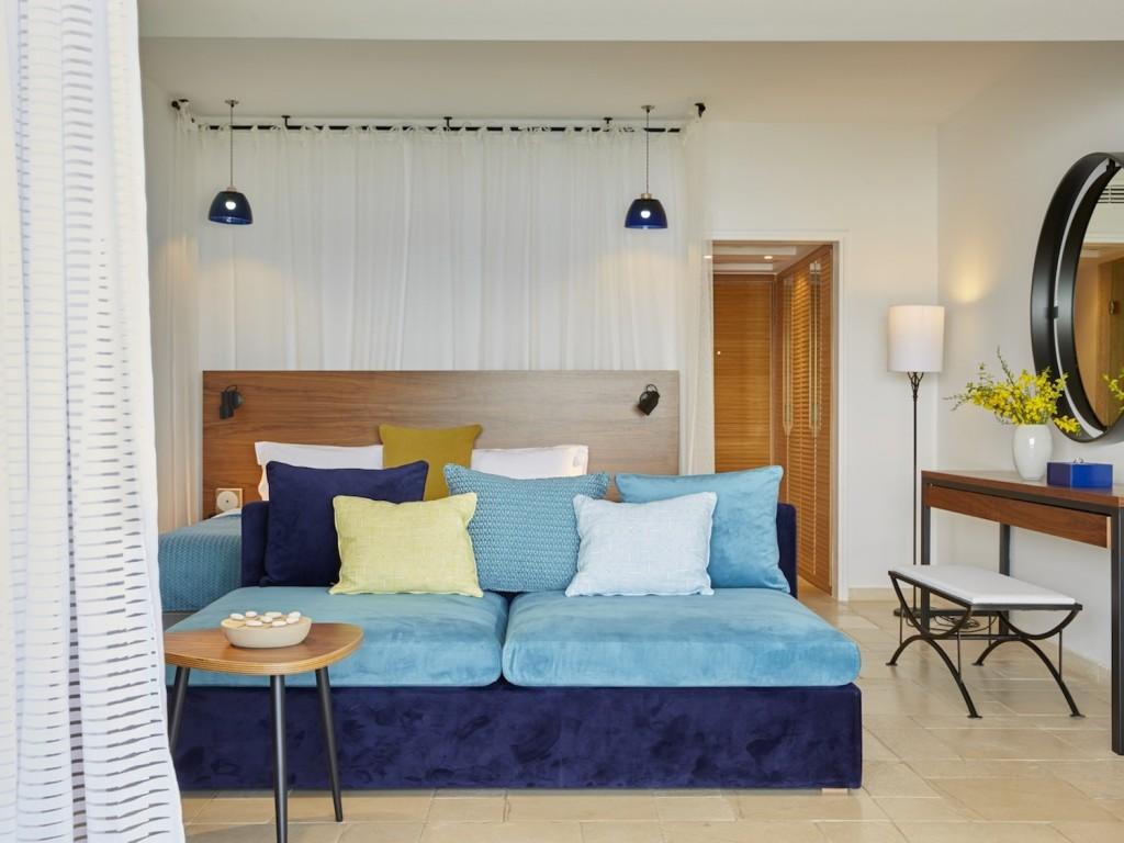 Eagles Palace Hotel & Spa Halkidiki Grece suite junior sea view 3