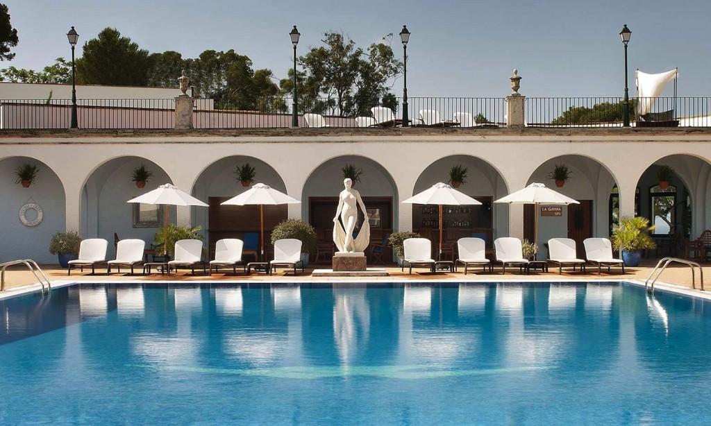 Hotel 5* GL Hostal de la Gavina Costa Brava s'agaro espagne piscine