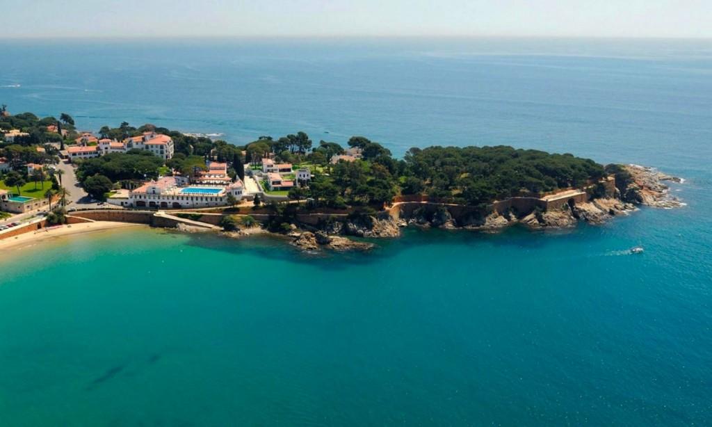 Hotel 5* GL Hostal de la Gavina Costa Brava s'agaro espagne vue aerienne