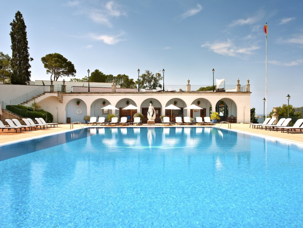 Hotel 5* GL Hostal de la Gavina s'agaro Costa Brava Pool