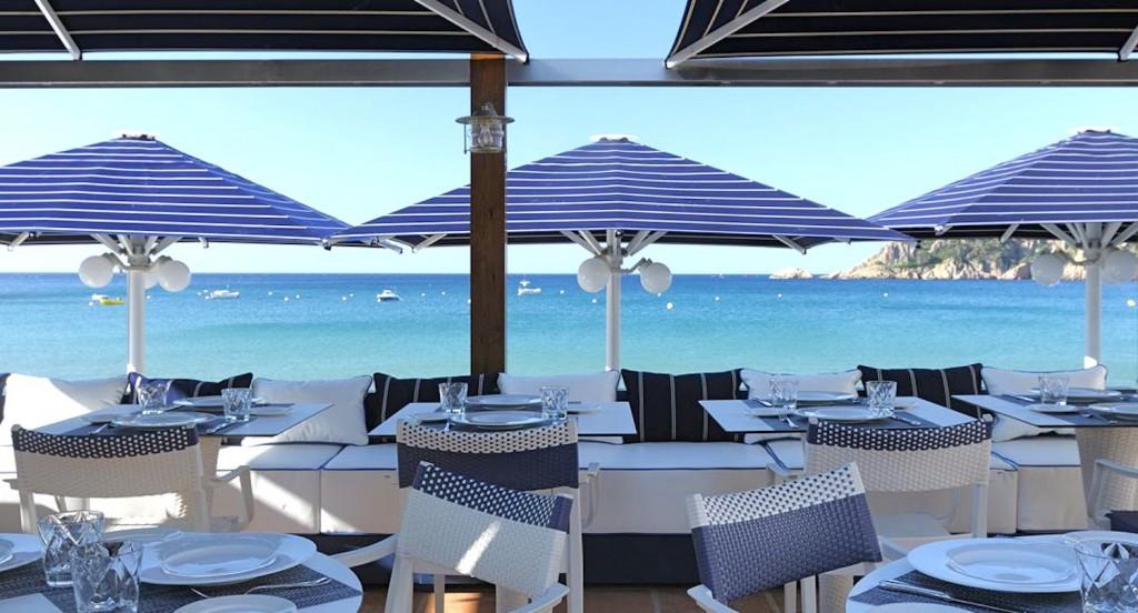 Hotel 5* GL Hostal de la Gavina s'agaro Costa Brava-Taverna-del-mar-Beach-Restaurant