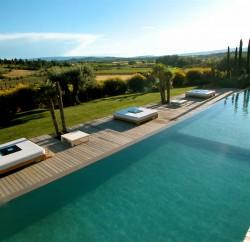 Domaine des andeols luberon piscine