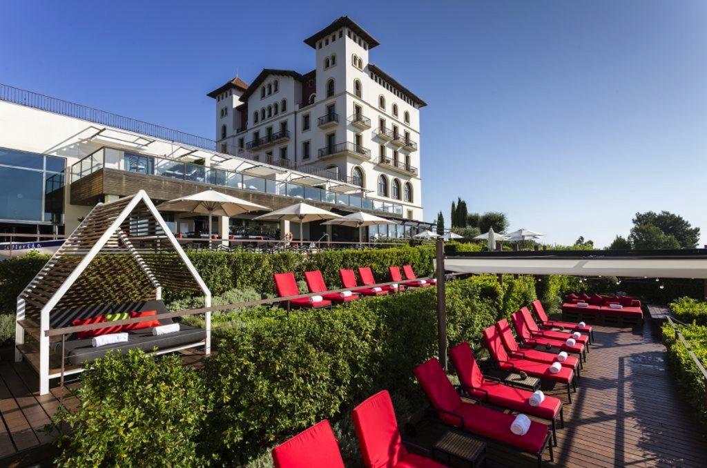 Gran Hotel La Florida 5* luxe Barcelone jardins
