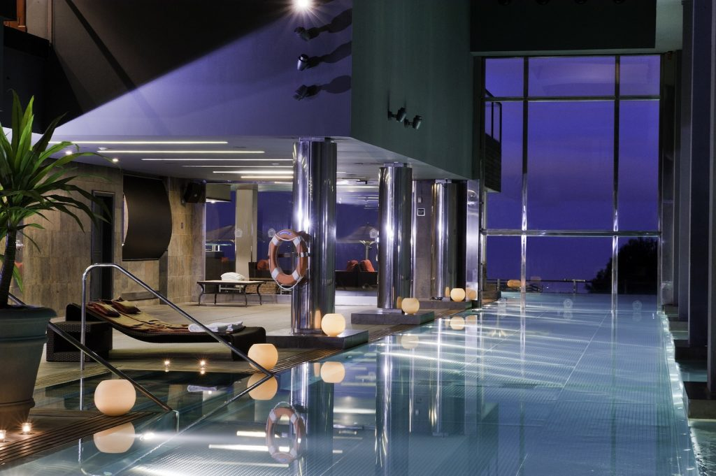 gran hotel la florida barcelone spa pool