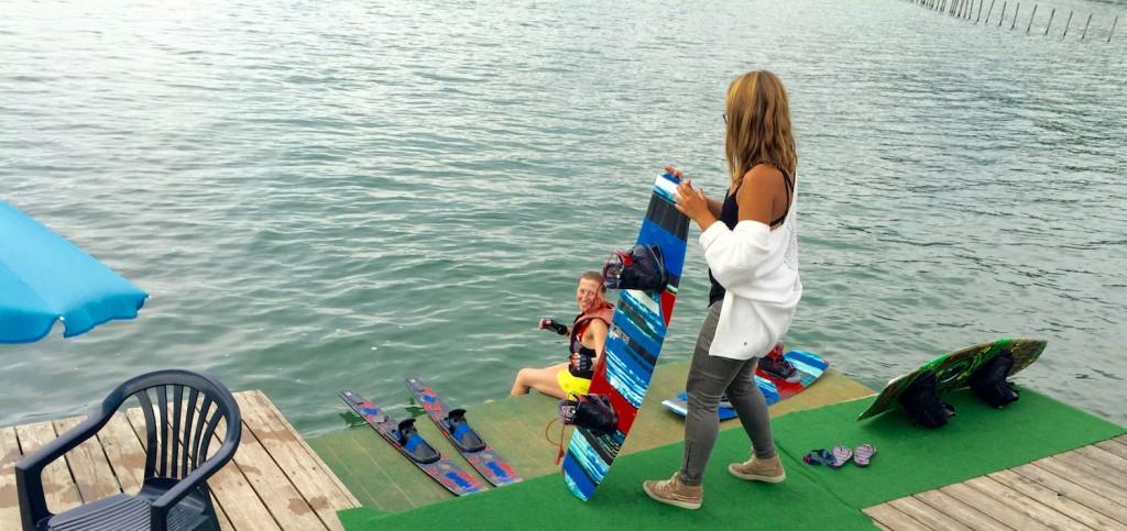 wakeboard aix les bains