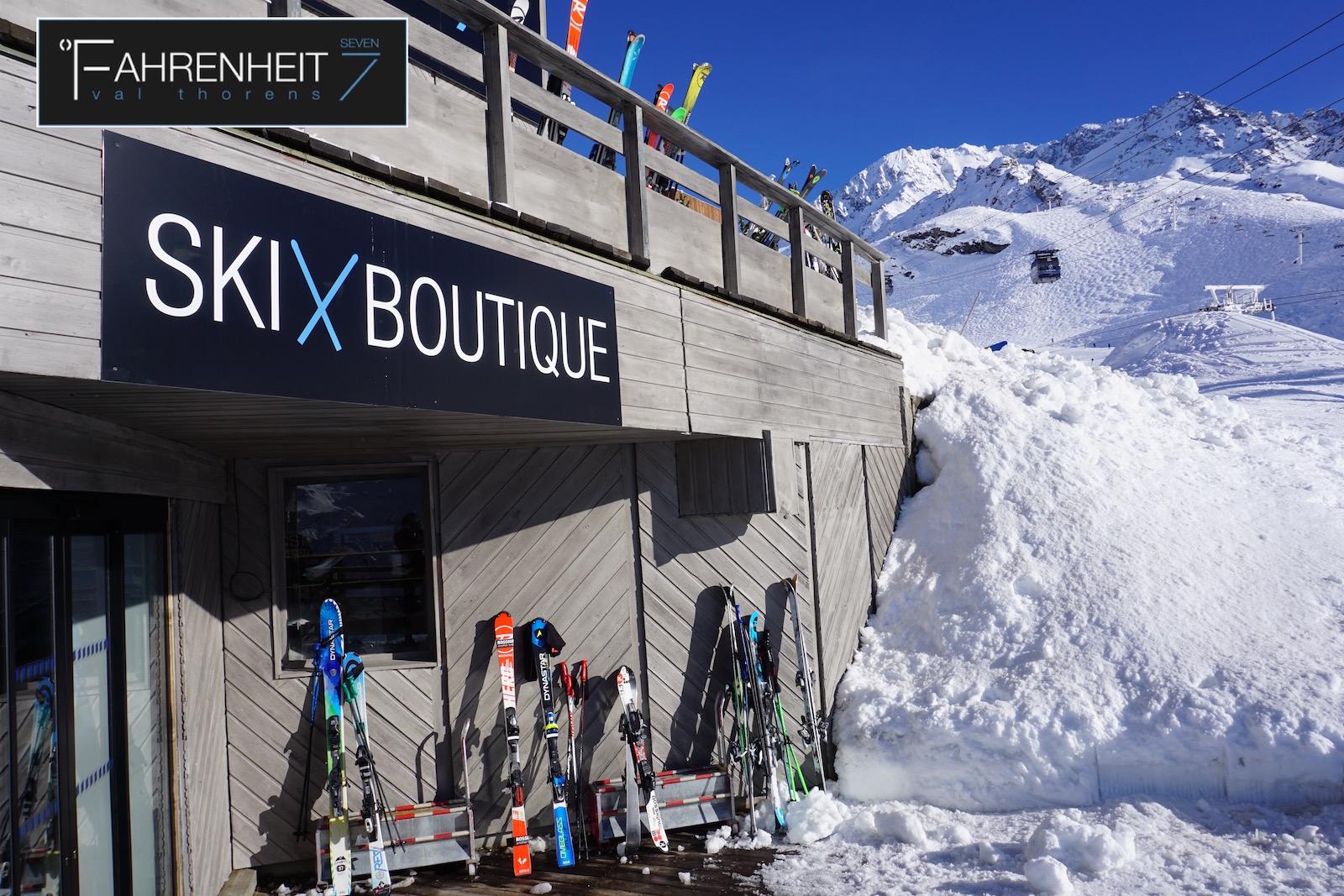 Fahrenheit seven la nouvelle adresse chic et branch e de for Boutique hotel ski