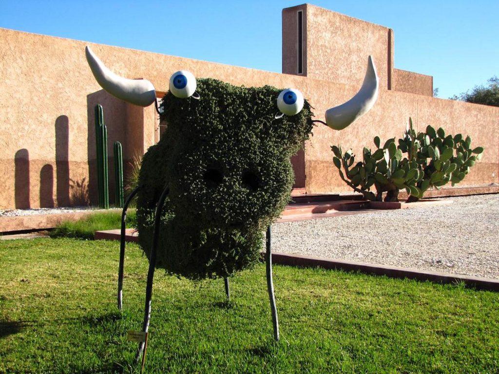 dar-sabra-marrakech-palmeraie-entree-richard-di-rosa