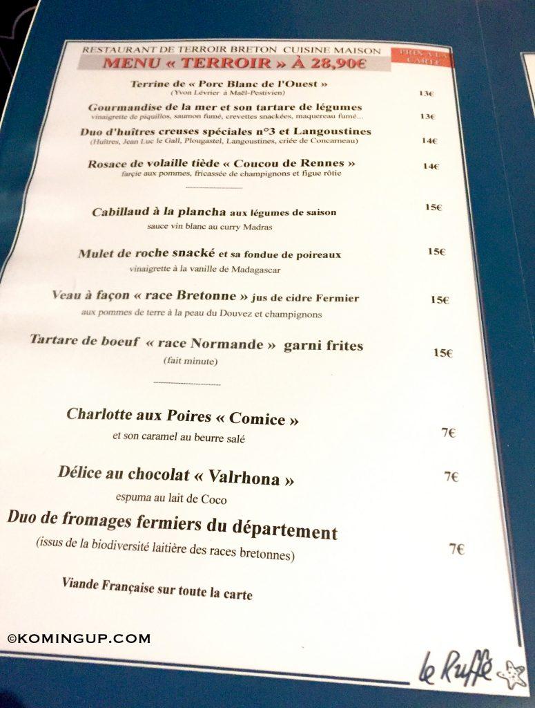 Brest la destination tendance du finist re bient t 3h for Aix cuisine du terroir menu