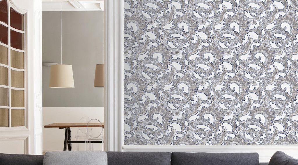 le renouveau du papier peint koming up. Black Bedroom Furniture Sets. Home Design Ideas